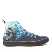 Zapatillas Spiral Flaming Spine High - Hombre - Negro