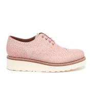 Grenson Women's Emily Stingray Leather Brogues - Pink