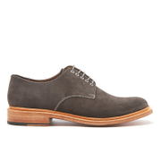 Grenson Men's Finlay Suede Derby Shoes - Lavagne