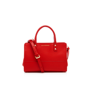 Lulu Guinness Women's Mini Daphne Smooth Leather Cross Body Bag - Red