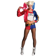 DC Comics Women's Harley Quinn Fancy Dress Costume