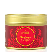 Luxury Small Tin Candle - Cranberry and Ginger