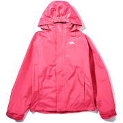 Trespass Girls' Skydive Waterproof 3-in-1 Jacket - Petal Pink