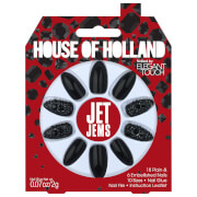 Elegant Touch House of Holland Party Nails - Jet Jems