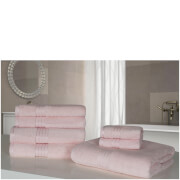 Highams 100% Egyptian Cotton 7 Piece Towel Bale (500gsm) - Pale Pink