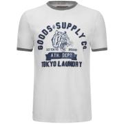 T-Shirt Homme Tiger Lake Brave Soul -Blanc