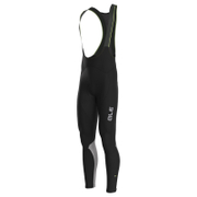 Alé Reflex Bib Tights - Black/Silver