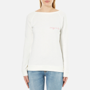 Maison Labiche Women's Crazy in Love Sweatshirt - Neige