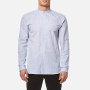 HUGO Men's Eddison Long Sleeve Shirt - Medium Blue