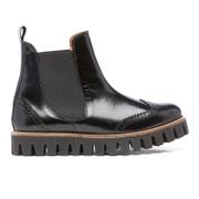 Ganni Women's Erin Shine Chunky Boots - Black