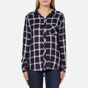 Rails Women's Hunter Shirt - Nightfall/White
