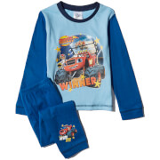 Blaze Boys' Graphic Print Pyjamas - Blue