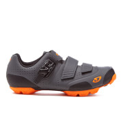 Giro Privateer R Trail Cycling Shoes - Dark Shadow/Flame Orange