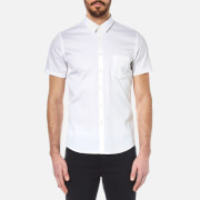 BOSS Orange Men's Eglam Short Sleeve Shirt - White