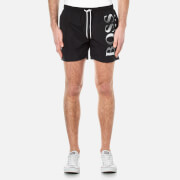 BOSS Men's Octopus Swim Trunks - Black