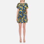 Boutique Moschino Women's Short Sleeved Printed Dress - Multi