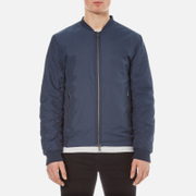 Selected Homme Men's New Light Bomber Jacket - Dark Blue Melange