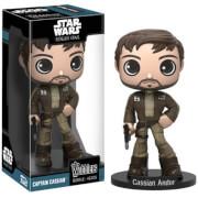 Star Wars Rogue One Captain Cassian Andor Wacky Wobbler Bobble Head