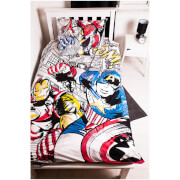 Marvel Comics Bed Bundle - Single