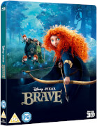 Merida – Legende der Highlands (Inklusive 2D Version) - Zavvi UK Exklusives Lentikular Edition Steelbook Blu-ray