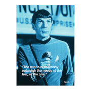 ZBOX Star Trek Postcard