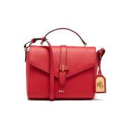 Lauren Ralph Lauren Women's Raquel Messenger Bag - Fiery Red