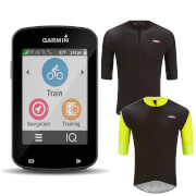 Garmin Edge 820 with Free PBK Stelvio Water Repellent S/S Jersey