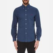 Polo Ralph Lauren Men's Long Sleeved Shirt - Seagate Blue