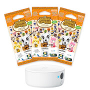 Nintendo 3DS NFC Reader/Writer + Animal Crossing amiibo Cards Triple Pack - Series 2