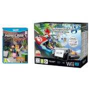 Mario Kart 8 (Pre-installed) Wii U Premium Pack + Minecraft: Wii U Edition