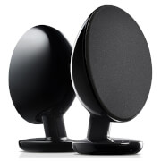 KEF EGG Bluetooth Stereo Speakers - Black
