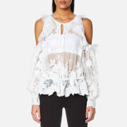 Three Floor Women's Icelandic Lace Top - White