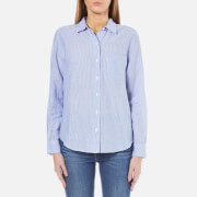 Levi's Women's Sydney One Pocket Boyfriend Shirt - Tabla Original Stripe