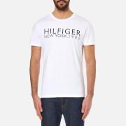 Tommy Hilfiger Men's Organic Hilfiger T-Shirt - White
