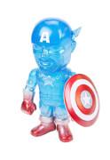 Hikari Marvel True Blue Captain America Vinyl Figure