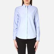 GANT Women's Perfect Oxford Shirt - Capri Blue
