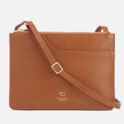 Radley Women's Pockets Medium Zip Top Cross Body Bag - Tan