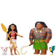 Disney Moana Adventure Collection Doll and Figures Set