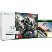 Xbox One S 1TB Console - Includes Gears of War 4 and Forza Horizon 3