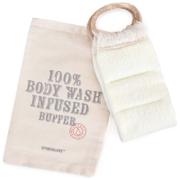Spongelle Spongology Body Wash Infused Back Buffer - Milk & Honey
