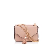Dune Women's Sassie Micro Tassel Cross Body Bag - Nude