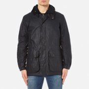Barbour Men's Binnacle Wax Jacket - Navy