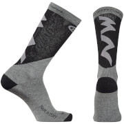 Northwave Extreme Pro High Socks - Grey/Black