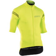 Northwave Extreme H2O Light Short Sleeve Jacket - Fluo Yellow
