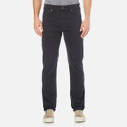 GANT Men's Regular Straight Microtwill Jeans - Navy