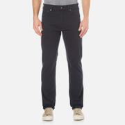GANT Men's Regular Straight Microtwill Jeans - Navy