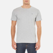 GANT Men's Original Crew Neck T-Shirt - Light Grey Melange
