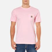 Carhartt Men's Short Sleeve Pocket T-Shirt - Vegas Pink