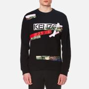 KENZO Men's Kenzo Logo Sweater - Black