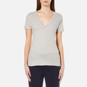 Polo Ralph Lauren Women's V Neck T-Shirt - Granite Heather